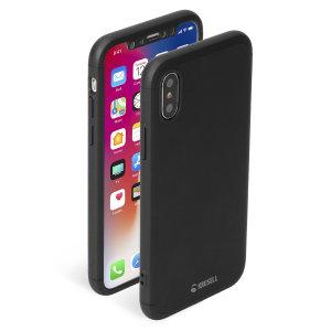Das Krusell Arvika 3.0 Cover und der Glass Screen Protector für das iPhone XS Max sind langlebig und rutschfest beschichtet und bieten erstklassigen 360-Grad-Schutz für Ihr neues, glänzendes Mobilteil, alles in einem schlanken, leichten und stilvollen Design.