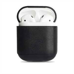 Add superior protection to your Apple AirPods case with this elegant, classic and stylish genuine leather cover from Krusell. The cover allows full access to your AirPods and adds premium protection for a peace of mind.