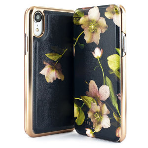 Ever wanted to check how you're looking on the go? With the Ted Baker Mirror Folio case for iPhone XR, you can do just that thanks to a concealed mirror on the inside of the case's flip cover. This slimline case also offers excellent protection.