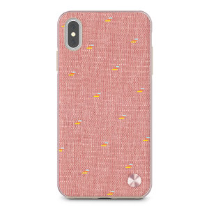 The Vesta case from Moshi adds not only premium military-grade drop protection to your Apple iPhone XS Max, but also a wonderfully individual vintage fabric back complemented by a metallic frame. Form meets function in this elegant, effective cover.