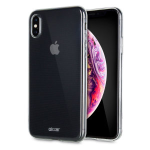 This ultra-thin 100% transparent gel case from Olixar provides a very slim fitting design, which adds no additional bulk to your iPhone XS. Offering durable protection against damage, while revealing the beauty of your phone from within.