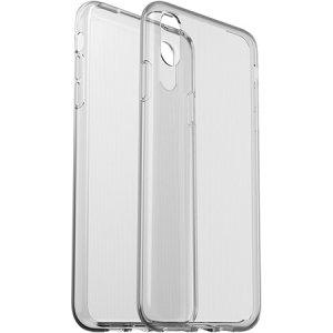 Behoud de onberispelijke staat en elegante uiterlijk van uw iPhone XS Max, terwijl u uw apparaat beschermt tegen krassen, stoten en krassen met deze ultralichte Clearly Protected Case van OtterBox.