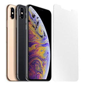 Halten Sie Ihren iPhone XS Max Bildschirm in makellosem Zustand mit dem ultradünnen OtterBox Alpha Glass Screen Protector mit Splitterschutz und Reactive Touch Technology.