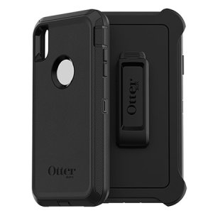 Protect your iPhone XS Max with the toughest and most protective case on the market - the black OtterBox Defender Series. Fully compatible with force touch, you can continue to use all of your iPhone's features whilst keeping it fully protected.