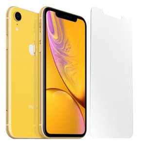 Keep your iPhone XR screen in pristine condition with the ultra thin OtterBox Alpha Glass Screen Protector with anti-shatter protection and Reactive Touch Technology.