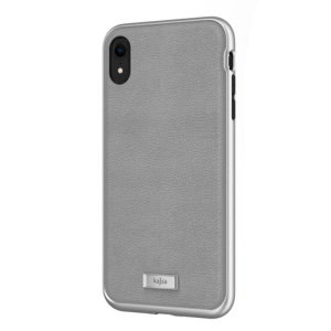 The Luxe Collection from Kajsa provides a substantial military grade protection for your iPhone XR, yet stays stylish, due to its genuine leather design in grey. Enjoy a durable dual layered, lightweight and sleek-looking case.