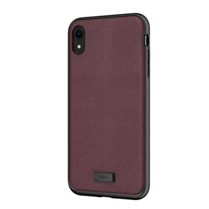 The Luxe Collection from Kajsa provides a substantial military grade protection for your iPhone XR, yet stays stylish, due to its genuine leather design in burgundy. Enjoy a durable dual layered, lightweight and sleek-looking case.