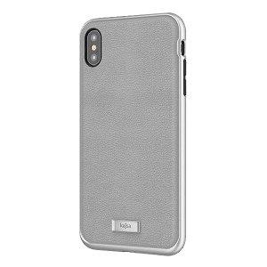 Die Luxe Collection von Kajsa bietet einen umfassenden Schutz für Ihr iPhone XS Max in militärischer Qualität und bleibt dennoch stilvoll, dank seines Echtlederdesigns in Grau. Genießen Sie ein langlebiges, zweilagiges, leichtes und elegantes Gehäuse.