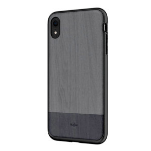 An Outdoor Collection from Kajsa provides a substantial military grade protection for your brand new iPhone XR, yet keeps it close to the nature with a beautiful grey wood pattern print on the back.