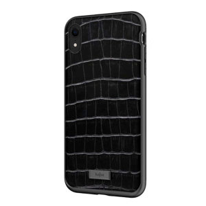 The Neo Collection Croco Pattern from Kajsa provides a substantial military grade protection for your iPhone XR, yet stays stylish, due to its genuine leather design in black. Enjoy a durable dual layered, lightweight and sleek-looking case.