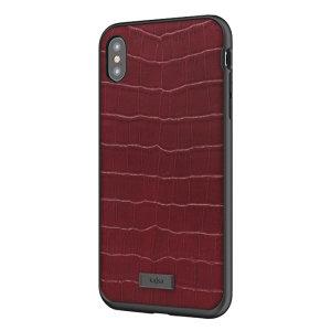 Die Neo Collection Croco Pattern von Kajsa bietet einen umfangreichen militärischen Schutz für Ihr iPhone XS Max und bleibt dennoch stilvoll, dank seines roten Echtlederdesigns. Genießen Sie ein langlebiges, zweilagiges, leichtes und elegantes Gehäuse.