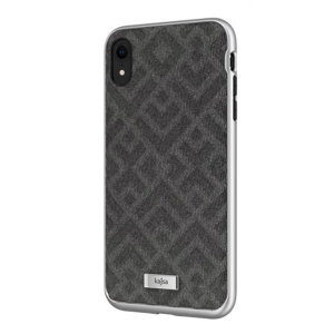 The Briquette Rhombus Collection from Kajsa provides a substantial military grade protection for your iPhone XR, yet stays stylish, due to its textured design in grey. Enjoy a durable dual layered, lightweight and sleek-looking case.