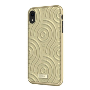 The Briquette Sphere Collection from Kajsa provides a substantial military grade protection for your iPhone XR, yet stays stylish, due to its textured design in gold. Enjoy a durable dual layered, lightweight and sleek-looking case.