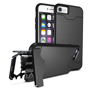 Prepare your iPhone 6S / 6 for the great outdoors with the rugged X-Ranger case. With a handy kickstand and a secure compartment for the included multi-tool - or the card of your choice - you'll be ready for anything.