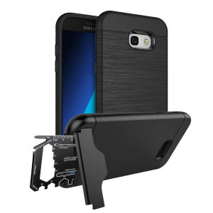 Prepare your Samsung Galaxy A5 2017 for the great outdoors with the rugged X-Ranger case. With a handy kickstand and a secure compartment for the included multi-tool - or the card of your choice - you'll be ready for anything.