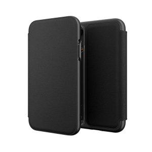 Die Oxford-Tasche von GEAR4 in Schwarz ist aus einem strukturierten Material mit schlanker Optik gefertigt, das einen fantastischen Rundumschutz für das iPhone XR bietet. Zusätzlich bieten Kreditkartenfächer praktische Einsatzmöglichkeiten.
