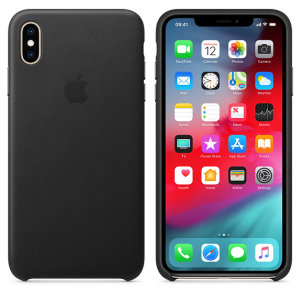 This official premium leather case for the iPhone XS Max in black, from Apple, offers top level protection, while looking and feeling luxurious. Designed and made by Apple, this case fits your iPhone perfectly and compliments its overall aesthetic.