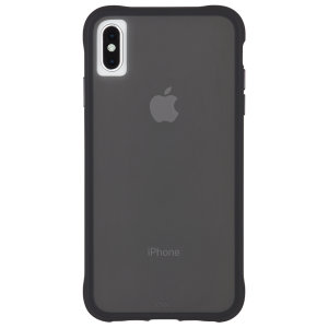 Ultra slim protection for your iPhone XS Max with the Case-Mate Tough Case in matte black. Featuring an all-in-one design and drop tested up to 10 feet, this case provides reliable protection and a minimalist look.