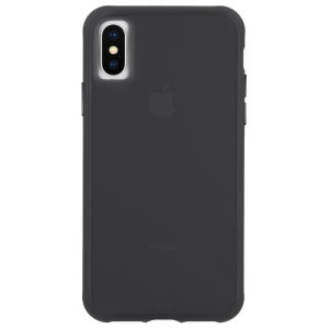 Ultra slim protection for your iPhone XS / X with the Case-Mate Tough case in matte black. Featuring an all-in-one design and drop tested up to 10 feet, this case provides reliable protection and a minimalist look.