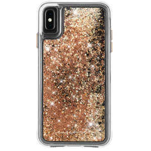 The Waterfall case provides military level protection from its two-layer structure, while boasting a beautiful gold design inspired by current trends. This case will make your iPhone XS Max pop, while still remaining fully functional and protected.