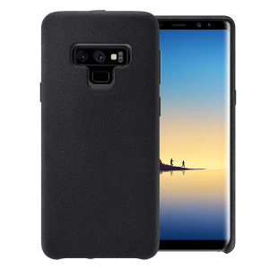 Olixar Samsung Galaxy Note 9 Suede Effect Case - Black