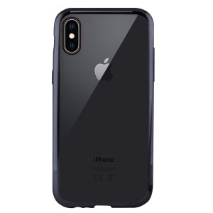 Showcase your iPhone XS Max with the Metal Flex Cover from KSIX. Combining a clear back with a grey metal bumper, this case provides protection, whilst looking sleek and fabulous.