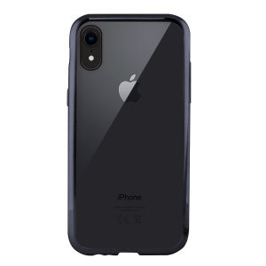 Showcase your iPhone XR with the Metal Flex Cover from KSIX. Combining a clear back with a grey metal bumper, this case provides protection, whilst looking sleek and fabulous.