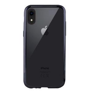 Muestre su iPhone XR con la funda Metal Flex de KSIX. Combinando una trasera transparente con un bumper de metal gris, esta funda brinda protección, a la vez que se ve elegante y fabulosa.