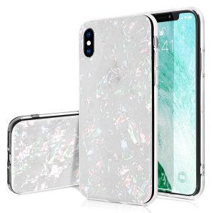 Protección y diseño combinados en esta fantástica funda Olixar Crystal Shell para el iPhone XS Max.