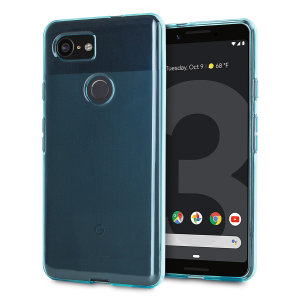 Custom moulded for the Google Pixel 3, this blue Olixar FlexiShield case provides slim fitting and durable protection against damage.