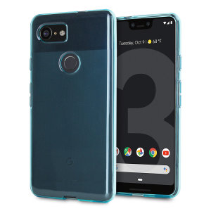 Custom moulded for the Google Pixel 3 XL, this blue Olixar FlexiShield case provides slim fitting and durable protection against damage.