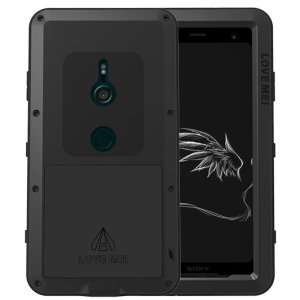 Protect your Sony Xperia XZ3 with one of the toughest and most protective cases on the market, ideal for helping to prevent possible damage from water and dust - this is the black Love Mei Powerful Protective Case.