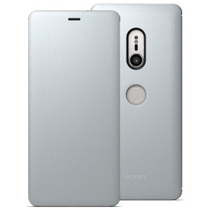 This high quality official SCSH70 bi-fold folio case from Sony houses your Xperia XZ3 smartphone, providing protection and access to your ports and features while incorporating a built-in viewing stand - in grey.