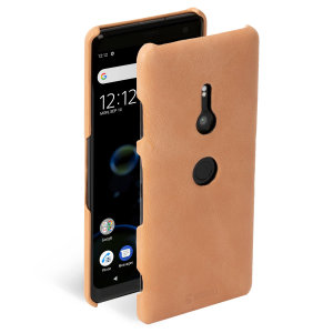 Krusell's Sunne cover in nude combines Nordic chic with Krusell's values of sustainable manufacturing for the socially-aware Sony Xperia XZ3 owner who wants an elegant genuine leather accessory.