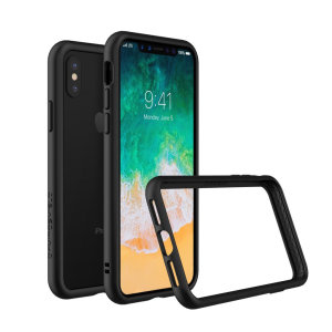 Shield your iPhone XS from drops, scratches, scrapes and other damage with the CrashGuard bumper case from RhinoShield. This case offers superb protection while adding virtually no extra bulk thanks to a shock-dispersing hexagonal structure.