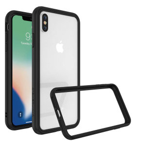 Shield your iPhone XS Max from drops, scratches, scrapes and other damage with the CrashGuard bumper case from RhinoShield. This case offers superb protection while adding virtually no extra bulk thanks to a shock-dispersing hexagonal structure.