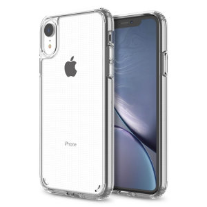 Custom moulded for the iPhone XR. This crystal clear Patchworks Lumina case provides a slim fitting stylish design and reinforced protection against damage, keeping your device looking great at all times.