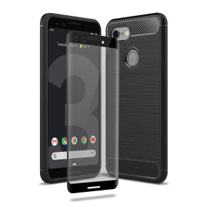 Olixar Sentinel Google Pixel 3 Case And Glass Screen Protector