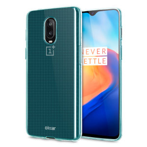 Custom moulded for the OnePlus 6T, this blue FlexiShield case from Olixar provides a slim fitting and durable protection against damage.