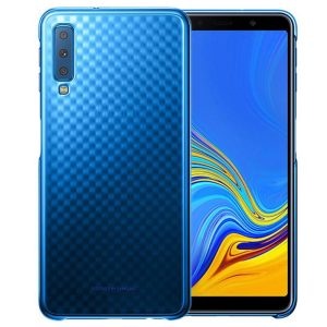 Protect your Samsung Galaxy A7 2018 with this Official Gradation case in blue. Stylish and protective, this case is the perfect accessory for your Galaxy A7 2018.