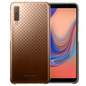 Protect your Samsung Galaxy A7 2018 with this Official Gradation case in gold. Stylish and protective, this case is the perfect accessory for your Galaxy A7 2018.