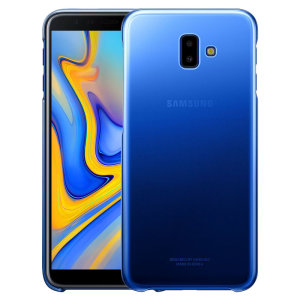 Protect your Samsung Galaxy J6 Plus with this Official Gradation case in blue. Stylish and protective, this case is the perfect accessory for your J6 Plus.