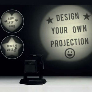 Enjoy this DIY Projector light to bring a cool-factor to any home, office, man cave or room. Perfect for special occasions, celebrations or all year round fun. All you need are some batteries (not included) and a bit of imagination.