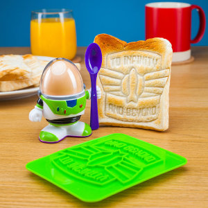 Mornings can be daunting, but why not make them better by decorating your breakfast with one of the greatest Toy Story slogans. This is a great gift for any die-hard Toy Story fan.