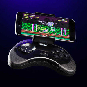 Turn your android smartphone into the ultimate handheld gaming device in a matter of seconds. The SEGA controller for smartphones has been designed for the sole purpose of improving your mobile gaming experience.