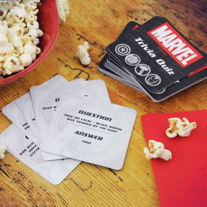 Look no further for the perfect activity to play for a night-in! Gather a few of your friends and prepare to have some competitive fun by testing your Marvel knowledge! This is a great bit of festive fun!
