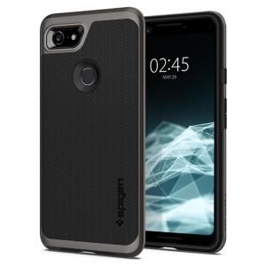 The Spigen Neo Hybrid in gunmetal colour is the new leader in lightweight protective cases. Spigen's new Air Cushion Technology reduces the thickness of the case while providing optimal corner protection for your Google Pixel 3.