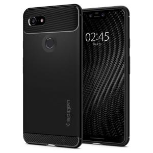 Meet the newly designed rugged armor case for the Google Pixel 3 XL. Made from flexible, rugged TPU and featuring a mechanical design, including a carbon fibre texture, the rugged armor tough case in black keeps your phone safe and slim.