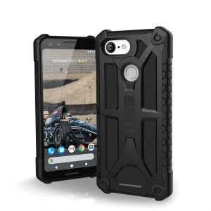 The Urban Armour Gear Monarch in black for the Google Pixel 3 is quite possibly the king of protective cases. With 5 layers of premium protection and the finest materials, your Pixel 3 is safe, secure and in some style too.