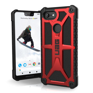 The Urban Armour Gear Monarch in crimson for the Google Pixel 3 XL is quite possibly the king of protective cases. With 5 layers of premium protection and the finest materials, your Pixel 3 XL is safe, secure and in some style too.